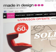 Boutique en ligne Made In Design